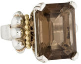 Lagos Smoky Quartz Glacier Ring
