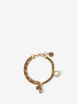 Alexander McQueen Signature Charm Bracelet