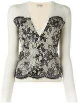 Ungaro lace jacquard jumper - women - Wool - M