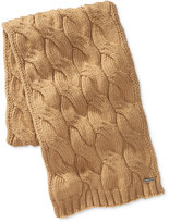 Michael Kors Men's Cable-Knit Scarf