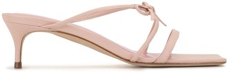 BY FAR January strappy sandals