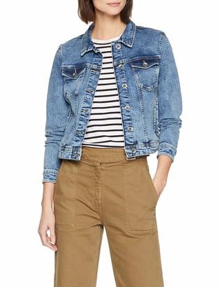 Only NOS Women's Onltia Long Sleeve Denim Jacket