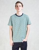 MAISON KITSUNÉ All Over Check Dots T-shirt