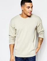 Asos Knitted Jumper With Kangaroo Pocket
