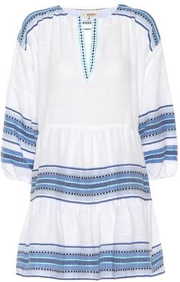 Lemlem Welela cotton-blend mini tunic dress
