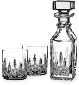 Waterford Linsmore Connoisseur Crystal Decanter & Tumblers Set