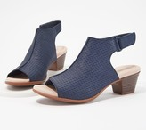 Clarks Collection Leather Heeled Sandals- Valarie James