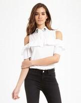 Morgan Ruffle Shirt
