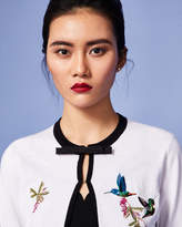 Ted Baker Highgrove embroidered cardigan