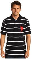 U.S. Polo Assn. 2 Color Narrow Stripe Polo