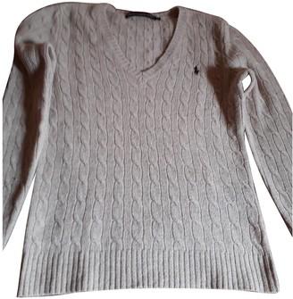 Ralph Lauren Camel Wool Knitwear for Women