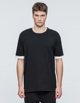3.1 Phillip Lim Double Sleeve S/S T-Shirt