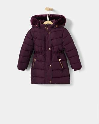 Ted Baker Quilted Longline Coat