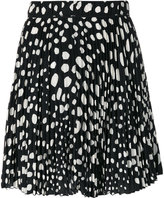 Marc Jacobs pleated spotted skirt