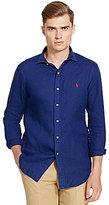 Polo Ralph Lauren Solid Linen Sportshirt