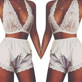 Sexy Lingerie Lace Dress KIOP Babydoll Women Underwear Nightwear Sleepwear