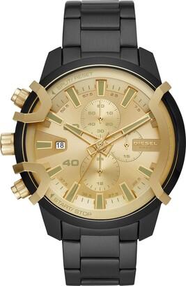 Diesel Men's Chronograph Quartz Watch with Stainless Steel Strap DZ4525