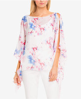 Vince Camuto Floral-Print Poncho Top