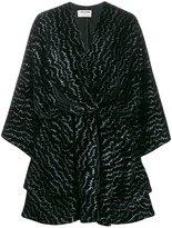 Zadig & Voltaire Zadig&Voltaire flared heartbeat-pattern dress