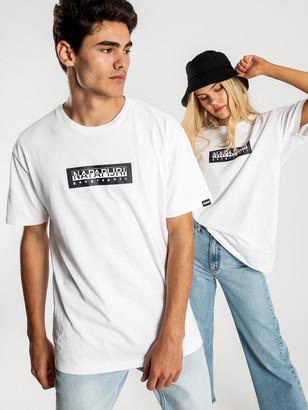 Napapijri Sox Short Sleeve T-Shirt in White