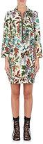 Philosophy di Lorenzo Serafini Women's Floral Linen-Silk Shift Dress