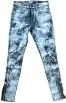 Amiri Grey Cotton Jeans for Women