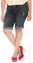 Torrid Denim - Roll Cuffed Bermuda Shorts