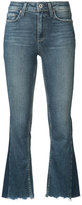 Paige flared cropped jeans
