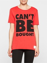 Calvin Klein #cantbebought Relaxed Fit T-Shirt