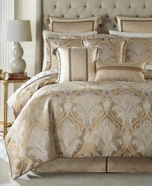 Croscill Alexander 4 Pc Queen Comforter Set Bedding