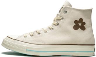 Converse Chuck 70 Hi 'Golf Le Fleur - Parchment Canvas' Shoes - Size 8
