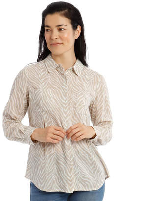 Regatta Front Tuck Long Sleeve Shirt With Rolled Sleeve