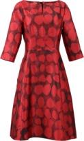 Oscar de la Renta Ruby Printed Dress