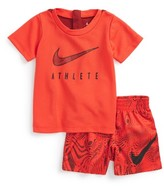 Nike Infant Boy's Graphic T-Shirt & Shorts Set