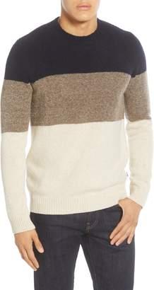 NN07 Ed Block 6370 Crewneck Wool Blend Sweater