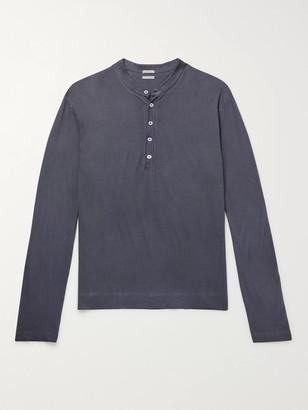 Massimo Alba Cotton-Jersey Henley T-Shirt