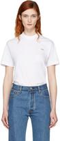 Vetements White Basic staff T-shirt