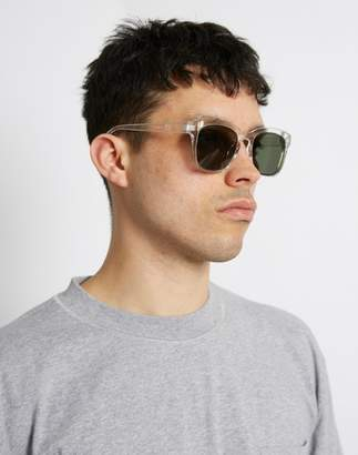clear The Idle Man - Asteroid Wayfarer Sunglasses
