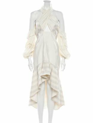 Alexis Silk Midi Length Dress
