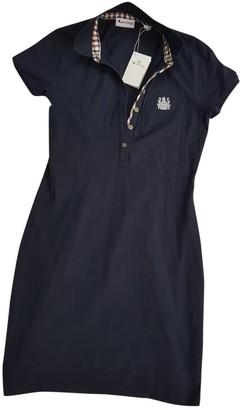 Aquascutum London Blue Cotton Dress for Women