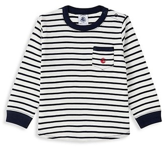 Petit Bateau Baby Boy's Striped Long Sleeve Shirt
