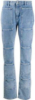 Lourdes Patch Pocket Jeans