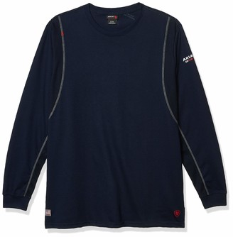Ariat Men's Big and Tall Flame Resistant Long Sleeve AC Work Crew