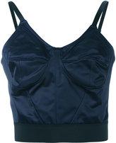Ter Et Bantine cropped vest - women - Cotton/Viscose - 42