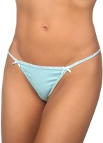 Hering Woen's Cotton String Thong 777P