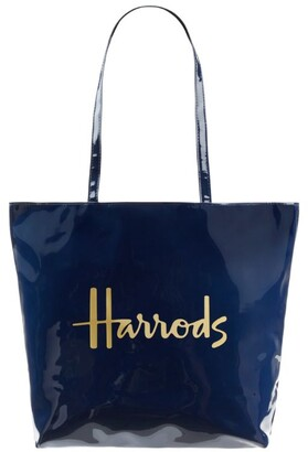 Harrods Logo Shoulder Tote Bag