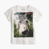 J.Crew Girls' unexpected friends T-shirt