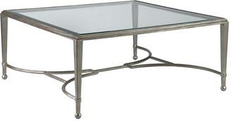 Artistica Sangiovese Square Coffee Table - Argento Silver