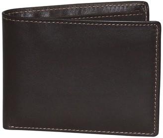 Buxton Dopp Regatta Leather Billfold Credit Card Leather Wallet