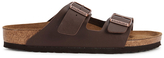 Birkenstock Arizona Double Strap Sandals Dark Brown